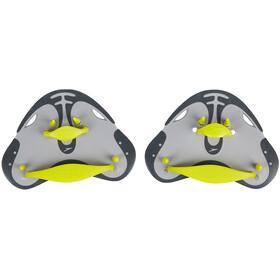 speedo Biofuse Finger Paddle green/grey